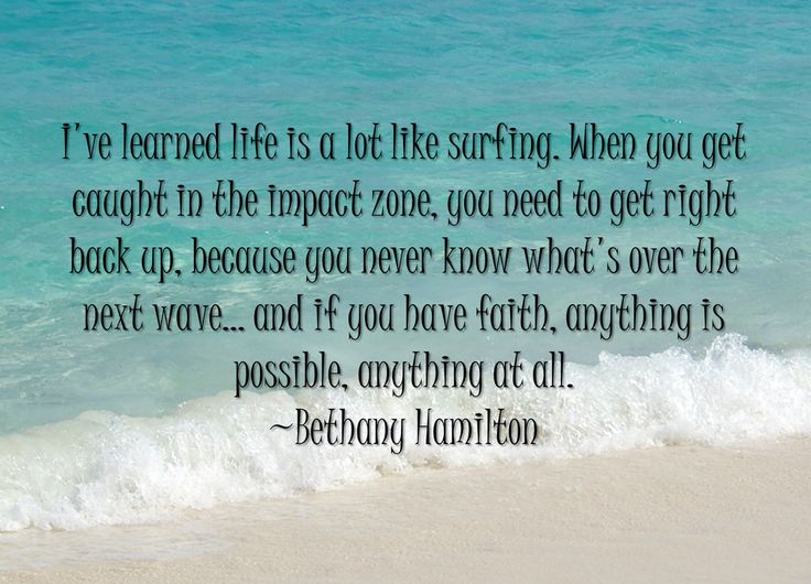 Quote By Bethany Hamilton
