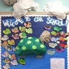 Welcome to School Turtle Bulletin Board