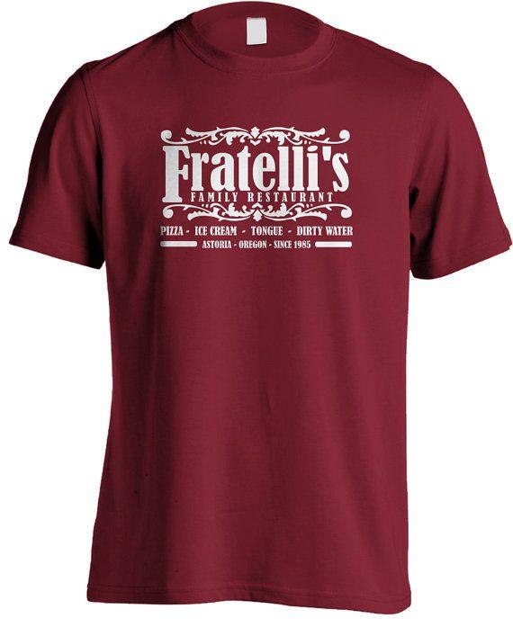 The Goonies Movie - Fratelli's Restaurant T-shirt on Etsy, $26.27
