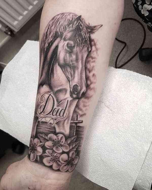 Paard Tattoo Betekenis 35 Tattoo Ideeën Betekenissen
