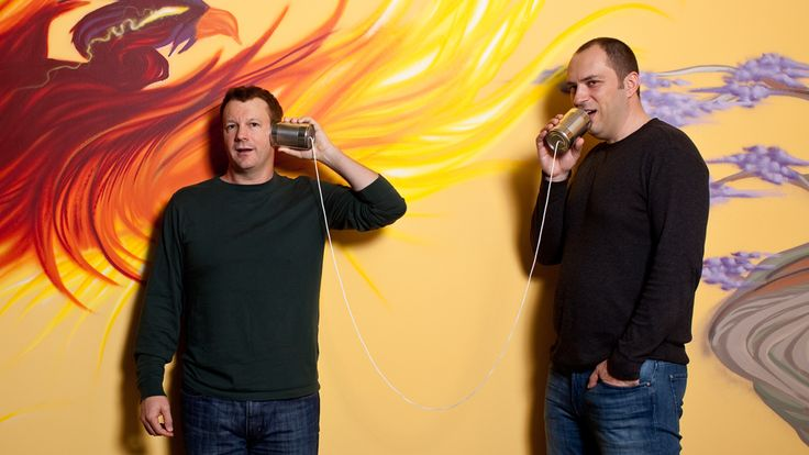 WhatsApp's Brian Acton and Jan Koum are billionaires thanks to a $19 billion deal with Facebook. (Photo: Robert Gallagher for Forbes)