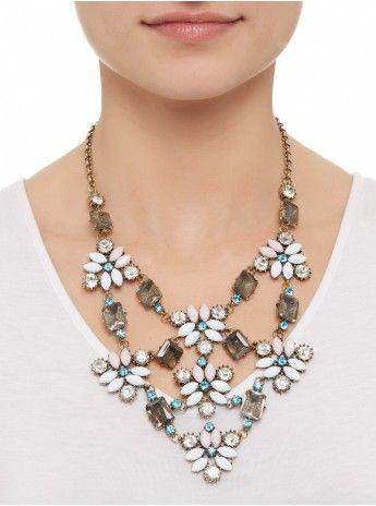 Flower necklace Multi-colour 206