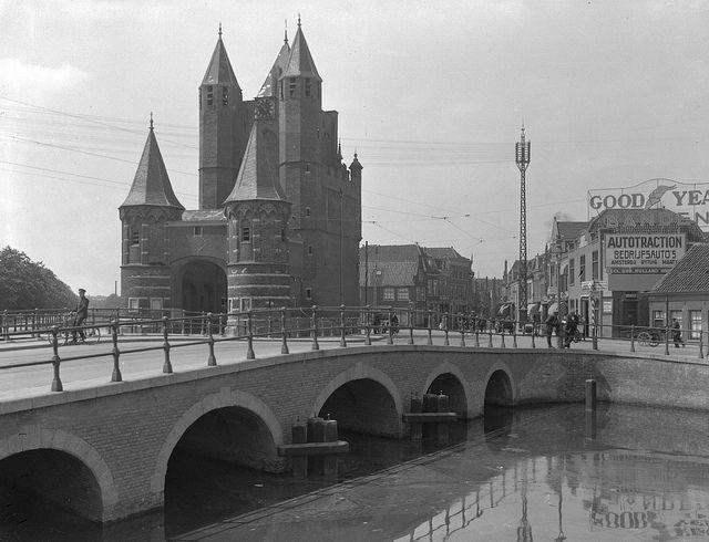 Amsterdamse Poort Haarlem rond 1930  