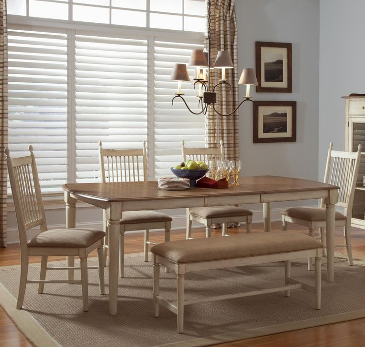 Dining Room Furniture Sets Barker: Cottage Cove 6-Piece Dining Set By Liberty Furniture