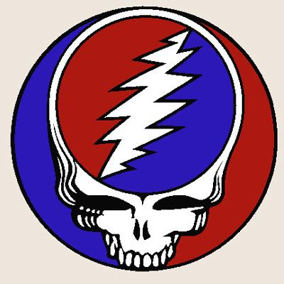 Although artist and long-term Grateful Dead collaborator Bob Thomas designed the skull and ray design back in 1969, it wasn't until it was used for the cover to 1976 live album 'Steal Your Face' that it became wholly synonymous with the band.