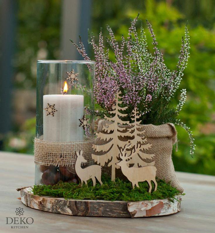DIY: süße Tischdeko für Herbst oder Winter