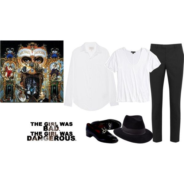 Michael Jackson Dangerous by akgsteeler on Polyvore featuring moda, Current/Elliott, Topshop, RED Valentino, Salvatore Ferragamo,…