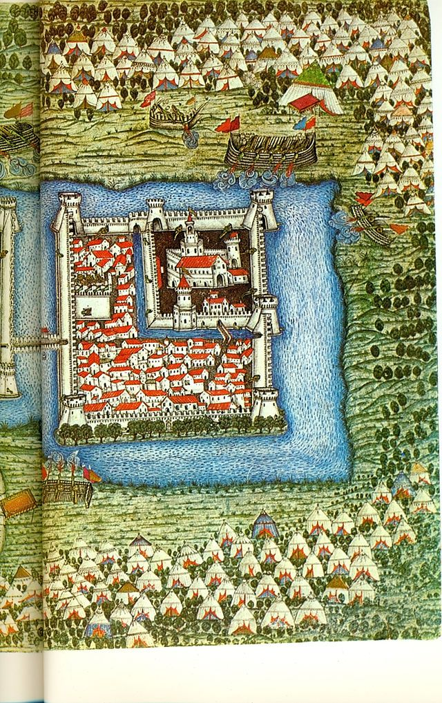 Szigetvár before the siege