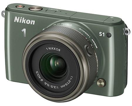 Nikon 1 Manual de S1 mirrorless Lente Intercambiável usuário da câmera digital (Instrução proprietários)