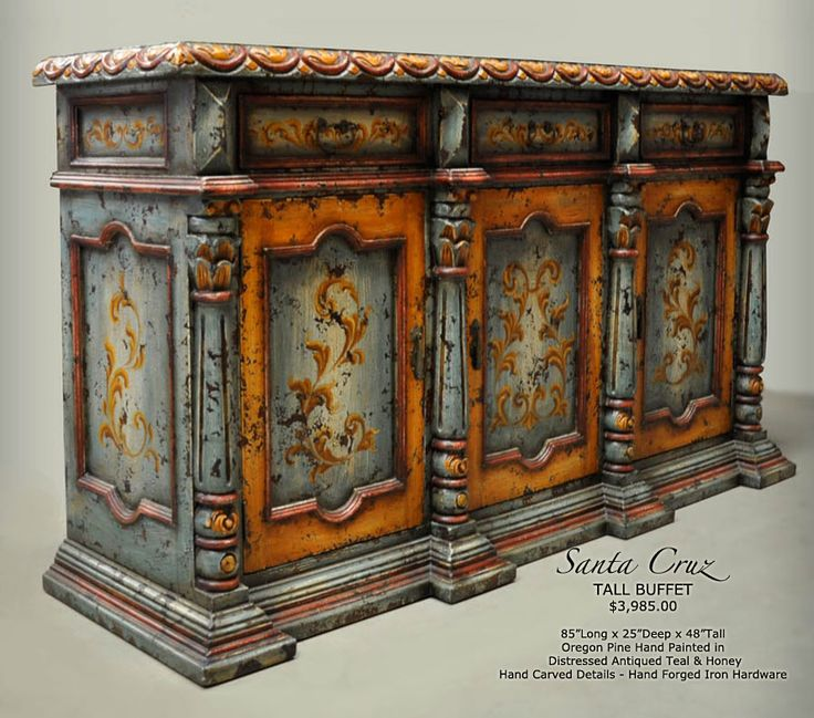 Lovely Old World Dining Room Furniture Hand Painted Dining Room Buffets Old World  Handpainted Furniture Buffet Dining Room Buffets Old World Hacienda, ...