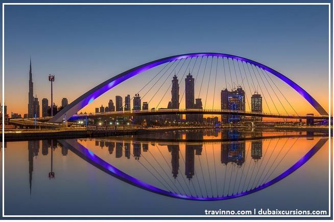 The Dubai water canal is one of the recent development and tourist attractions of Dubai.The water canal gives a Panoramic view of the modern Dubai.Also we can have a water ride through the canal and have a spectacular view of the Down Town Dubai.