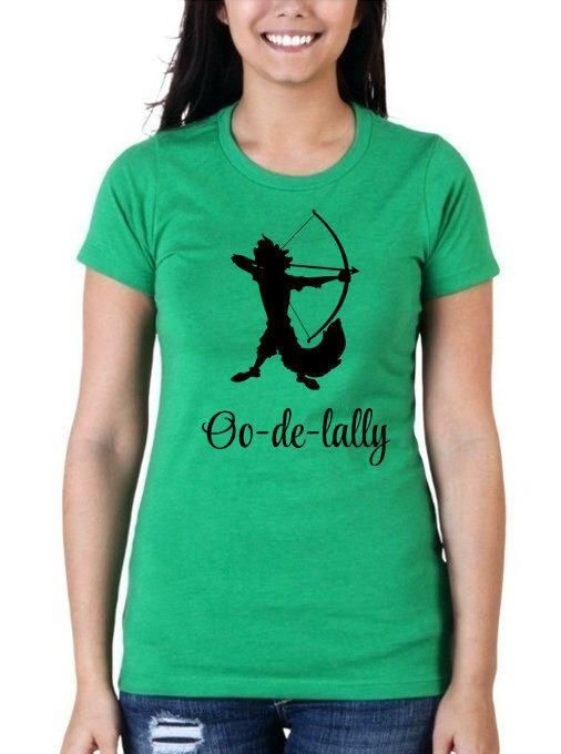 "Robin Hood Disney Shirt // ""Oo-de-lally"" Green Crew Neck // Women's Disney Shirts // Adult Disney Robin Hood Shirts // Robin Hood Bow by HimAndGem on Etsy https://www.etsy.com/au/listing/228055098/robin-hood-disney-shirt-oo-de-lally"