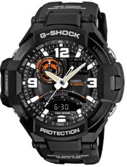 G-Shock GA-1000-1AER, som har både kompass, termometer, nedtellingsfunksjon og passer til fridykking