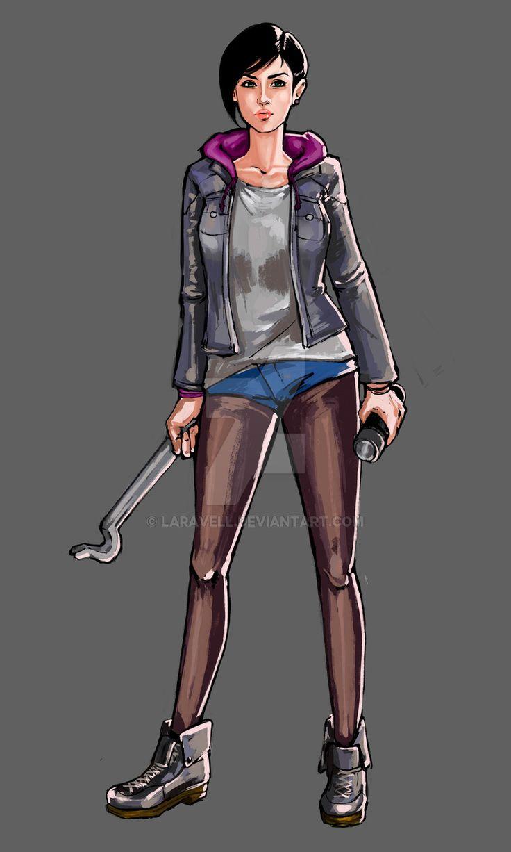 Resident Evil Revelations 2 -Moira Burton by LaraVell.deviantart.com on…