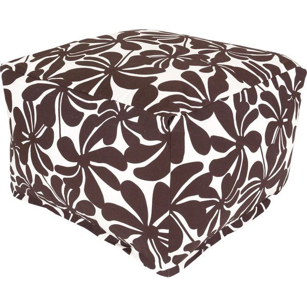 Inspired by breezy beach house style, this lovely bean bag ottoman infuses your living room, patio, master suite, and beyond with a hint of coastal tranquility. Start with a woven abaca coffee table or cool-hued seating group, then add a louvered sideboard and rope-wrapped accents to complete the look. Whether you're outfitting your beach house or dreaming of the sea, this floral-print bean bag ottoman infuses your space with tropical charm. Go for a rustic look with weathered wall mirrors…