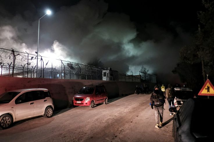 Έκρηξη στο hot spot προσφύγων στη Μόρια – Πληροφορίες για νεκρούς και τραυματίες