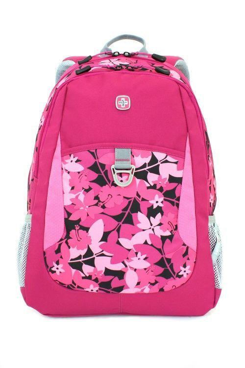 Swiss Gear Pink Backpack Click Backpacks