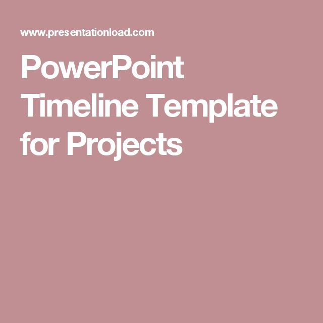 The 25+ best Project timeline template ideas on Pinterest - timeline template