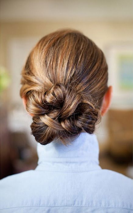 How to: The knot updo
