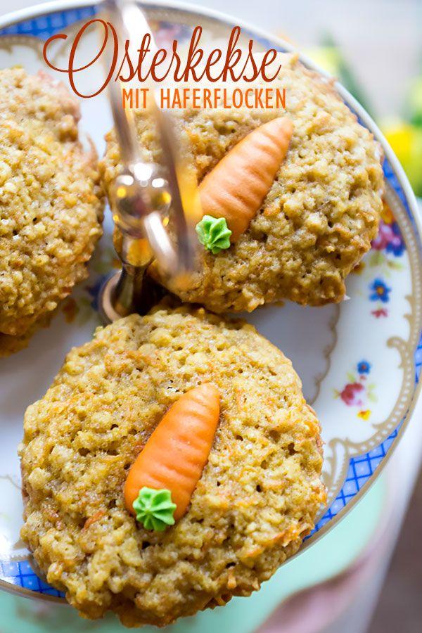 Osterkekse Mit Haferflocken Und Karotten Madames Cuisine