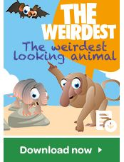 Who's the weirdest of them all? Use your weirdest Super Animal Cards to guess which parts of this fantasy animal belong to which real animal. Starting guessing here!
