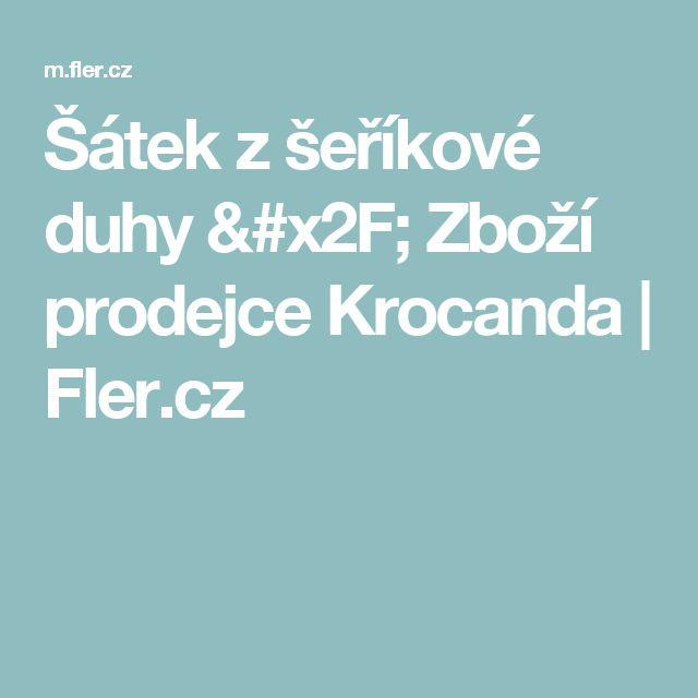 Šátek z šeříkové duhy / Zboží prodejce Krocanda | Fler.cz
