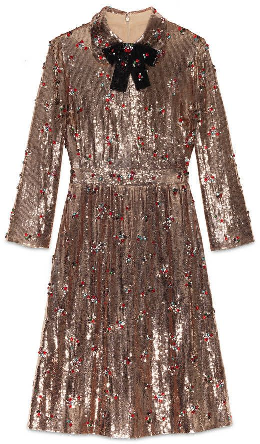 SHOP | Head to toe sequins dress