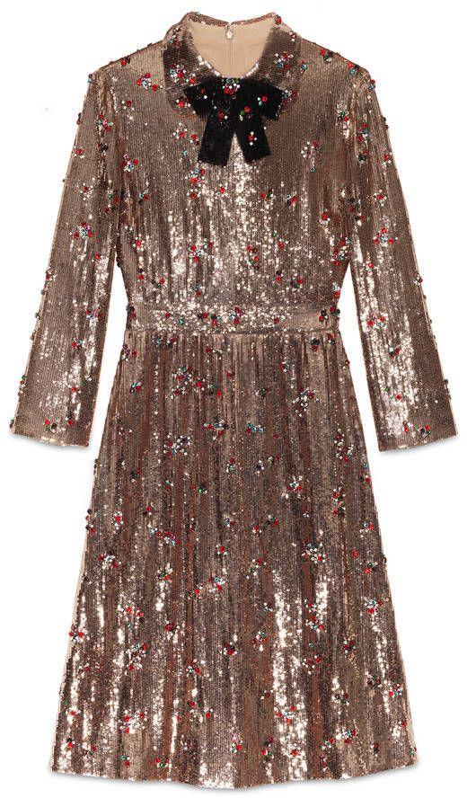 SHOP | Head to toe sequins dress