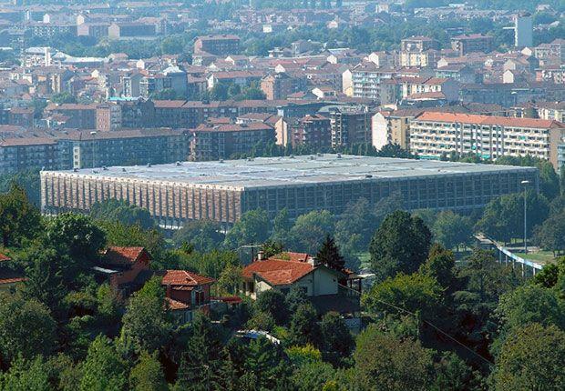 #Torino 1961, #Worldsfair del #Lavoro per il Centenario dell'Unitàd'Italia.  Progetto di #PierLuigiNervi, #GioPonti.