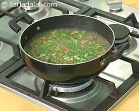 Nourishing Barley Soup recipe | Indian Diabetic Recipes | by Tarla Dalal | Tarladalal.com | #3529