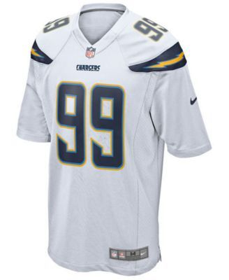 Nike Men's Joey Bosa Los Angeles Chargers Game Jersey - White XXL