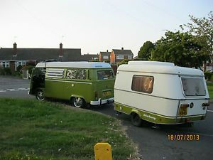 Eriba and vw caravan camper beetle