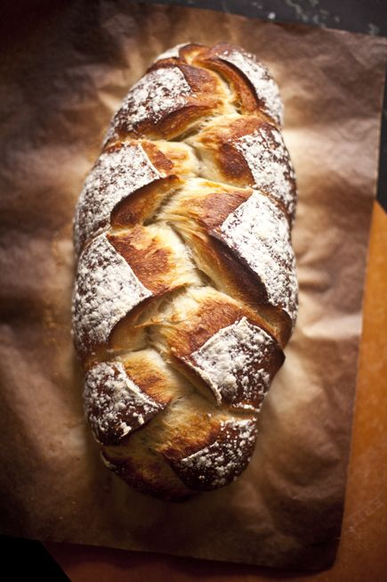 Braided Peasant Bread FoodBlogs.com                                                                                                                                                                                 More