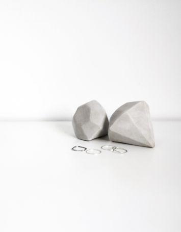 DIY Clay Diamonds