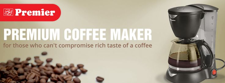 Premium Coffee maker – for those who can't compromise rich taste of a coffee