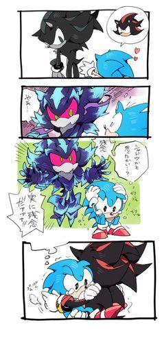 Miren el trabajo de este asombroso artista japones, el es el que hace todos estos cómics de Classic sonic! http://twitpic.com/photos/C_hir0