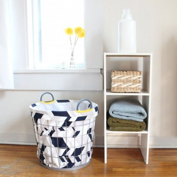 Laundry Hamper Liner Customize Your Storage By Learning How To