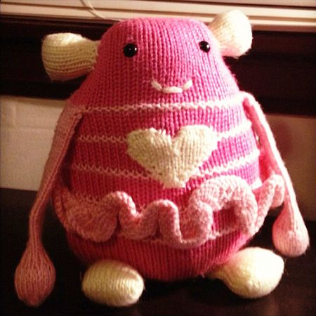 """In December, a handful of knitters started a group to knit monsters for Sandy Hook—one to """"protect"""" and provide comfort to each student. Now thousands are making monsters for the group 600 Monsters Strong. Learn more about the amazing effort, and how you can get involved."""