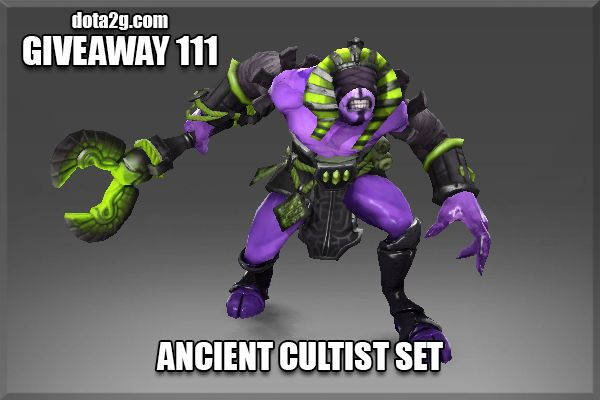 Giveaway 111 - Ancient Cultist Set
