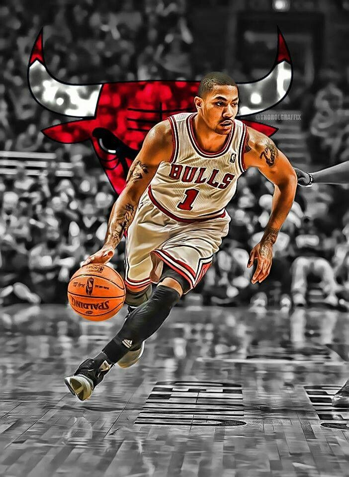 Derrick Rose one of the greatest point guards of all time in the NBA. Coming back from a knee injury.