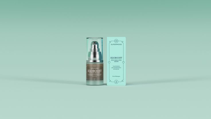 Supermood Egoboost - Eyes Wide Open Serum 15ml | Tightening and refreshing eye serum with natural Chaga.