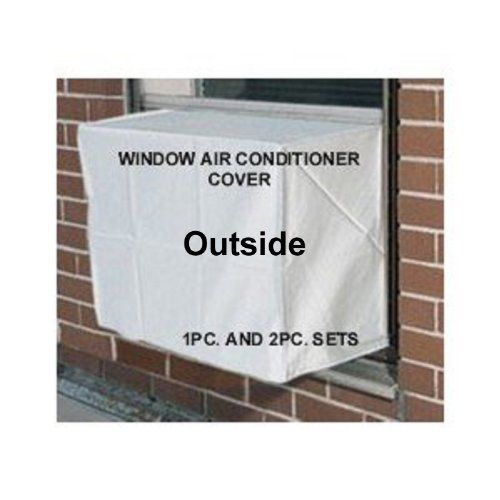 Air #conditioner covers. All our #Window Covers are heavy duty, waterproof, non-scratching, poly-fabric with felt backing. They keep warmth in your home and cold ...