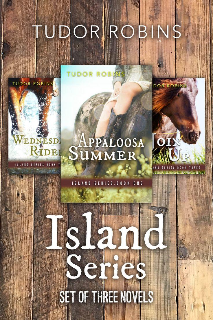Island Series  Set Of Three Novels By Tudor Robinsingofage