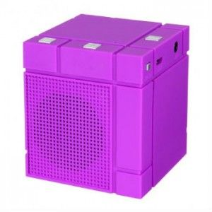 The Cube Bluetooth Speaker is a great employee reward or client gift. The booming bass and crystal clear high volume sound will rock everything from country to the classics. The battery allows up to five full hours of play time on a single charge. Connect via Bluetooth.