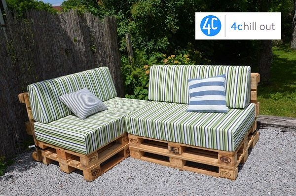 """Custom Outdoor Sitting Pallet Cushion 120x80x20cm (47""""x31""""x8"""") Pallet Cushion, Bench Cushion, Outdoor fabrics, Many Colours Available by 4ChillOut on Etsy https://www.etsy.com/listing/491068976/custom-outdoor-sitting-pallet-cushion"""