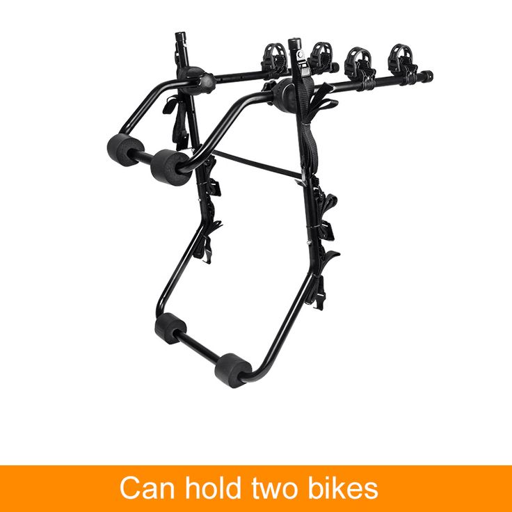 ROCKBROS Portable Car Back Rear-Mounted Bicycle Carrier Hanging Bike Carrier Rack for SUV