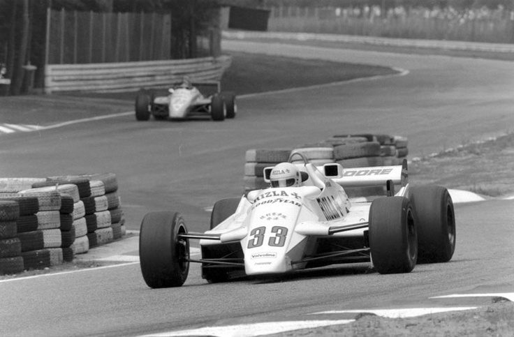 Tommy Byrne, Hockenheim 1982, Theodore TY02