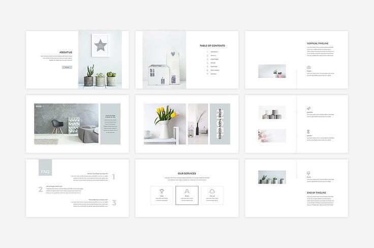 Rigel Presentation Template by SlideStation on @creativemarket