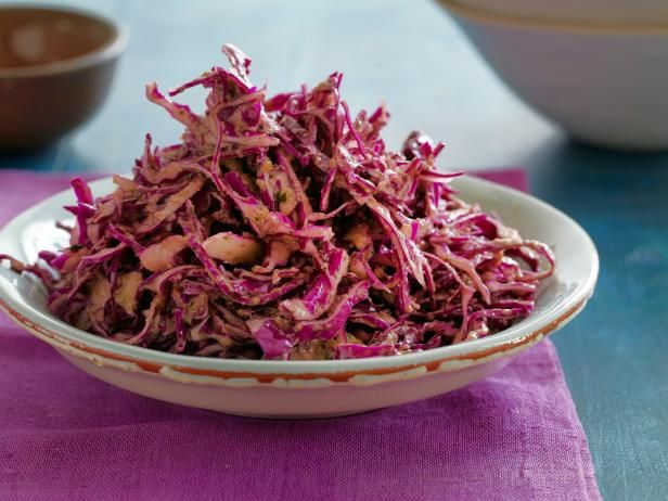 Get Bobby Flay's Red Cabbage Slaw Recipe from Food Network