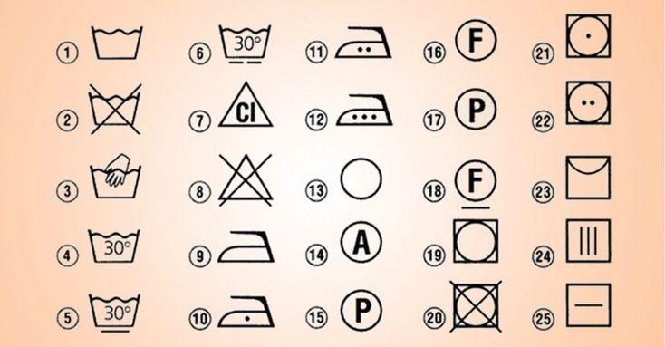Konečne som prestala robiť chyby pri praní. Naučila som sa, ktorý symbol čo presne znamena.